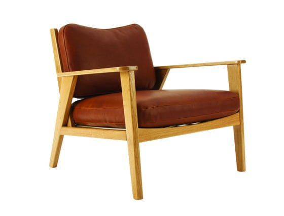 Louis compact archair by and then design for Armchairs for small spaces
