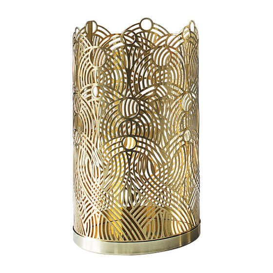 Skultuna brass candle holder - the London Collection