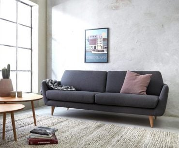 contemporary sofa for small spaces