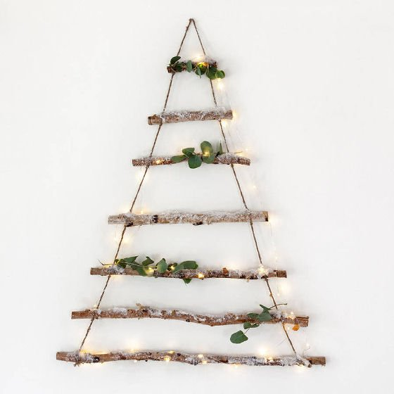 Not on the High Street Alternative Birch Branch Christmas Tree