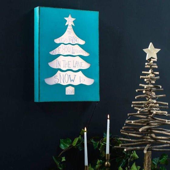 Alternative Christmas Decorations.Contemporary Alternative Christmas Trees For Small Spaces