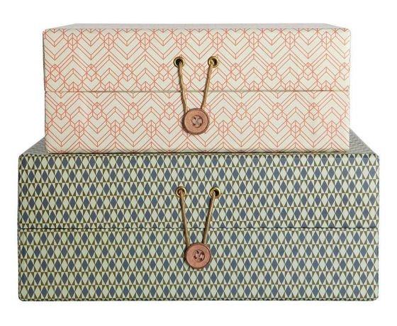 Set of decorative storage boxes - Decorative storage boxes ...