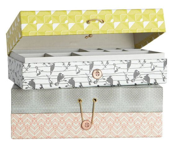 Decorative Boxes Uk Amazing Decorative Home Storage  From Idyll Home  Colourful Beautiful Things Inspiration Design
