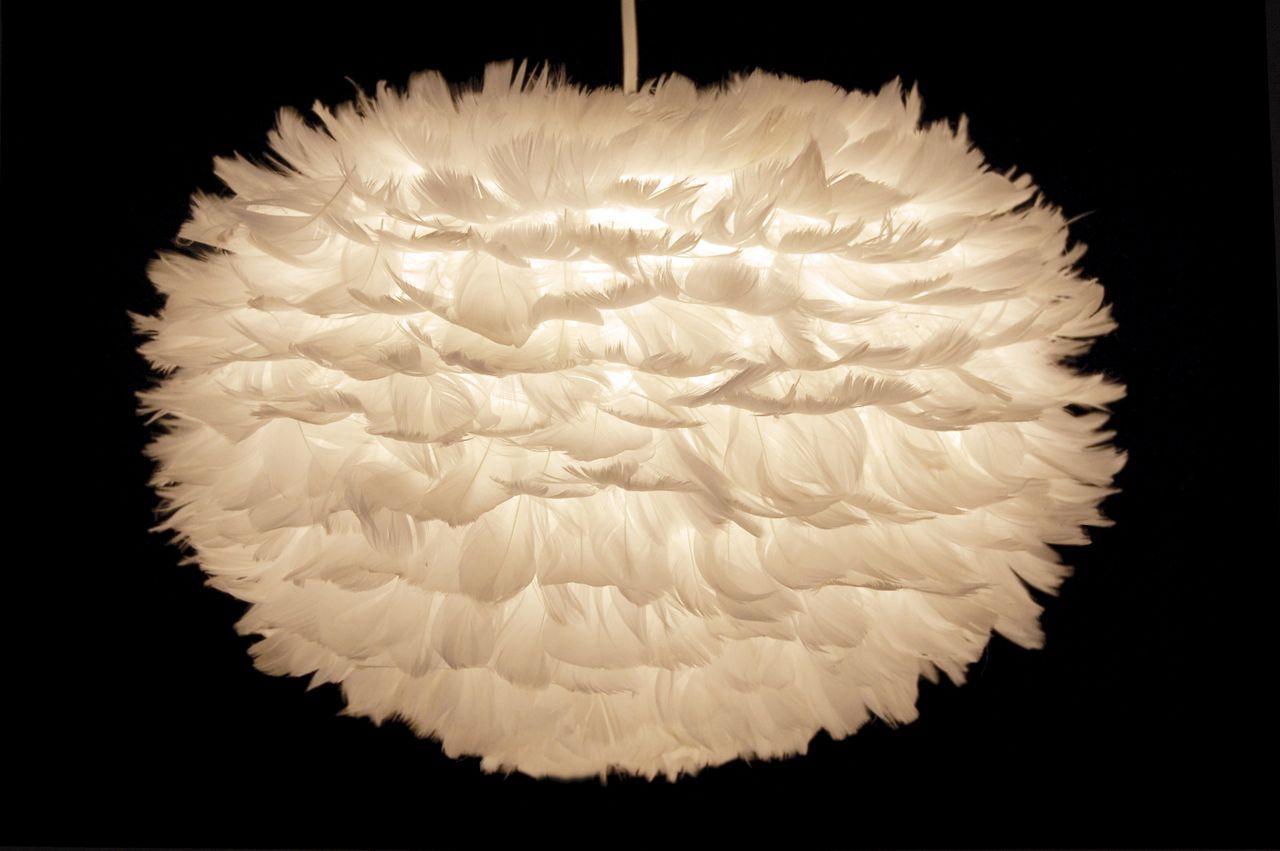 Eos Feather Pendant Light By Vita Copenhagen Colourful