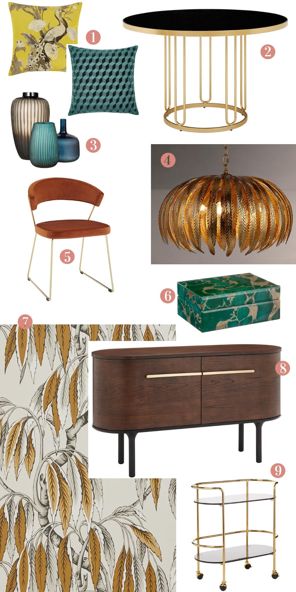 Palazzo Collection by John Lewis & Partners - contemporary eclectic luxury for your home