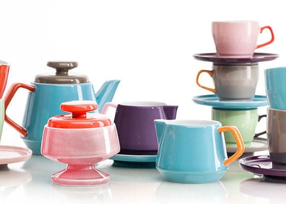 Colourful tableware in pink red turquoie and orange  sc 1 st  Colourful Beautiful Things & Colourful tableware Scandinavian style \u2022 Colourful Beautiful Things