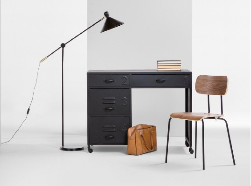 Top 10 contemporary home desks for small spaces colourful beautiful things - Small student desks small spaces photos ...
