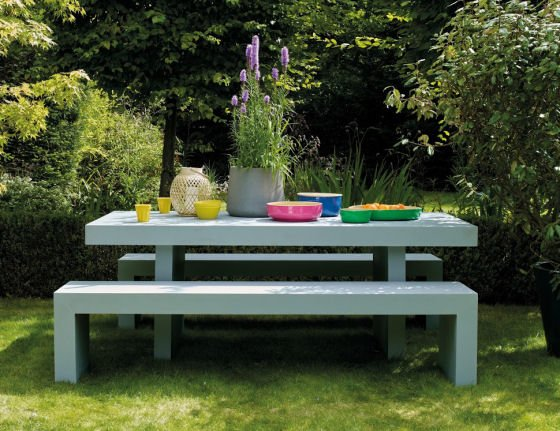 Trends Weve Spotted Are Outdoor Tables Teamed With Versatile And Space Saving Benches Also Dining Sets Featuring Either