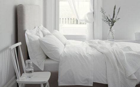 Fresh & stylish summer bedlinen by The White Company