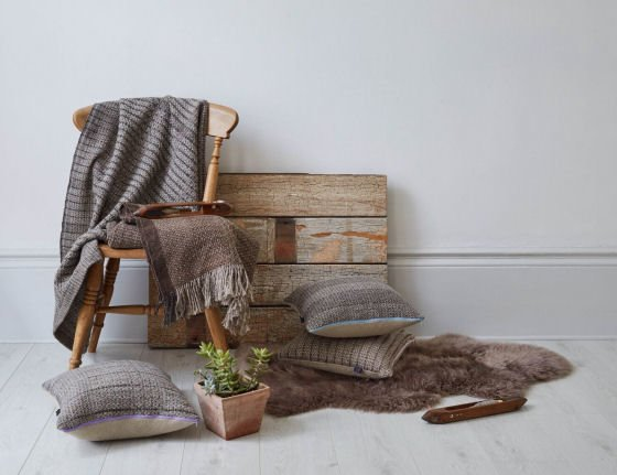Fiona Daly textiles at Hamdmade at Kew 2016 selling craft show